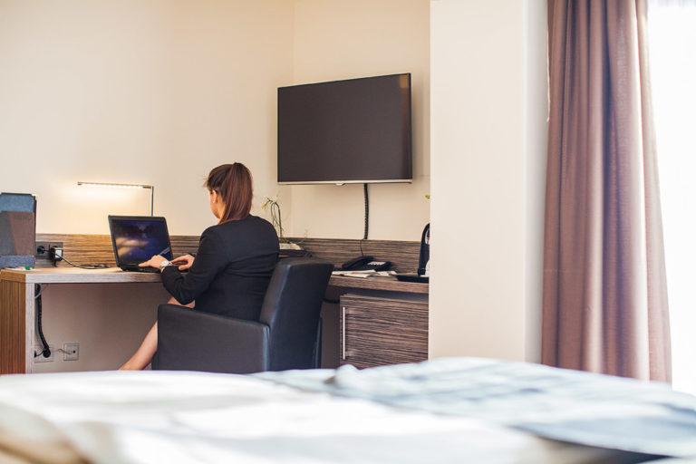 Businessreisende Willkommen im Parkhotel Ahrbergen