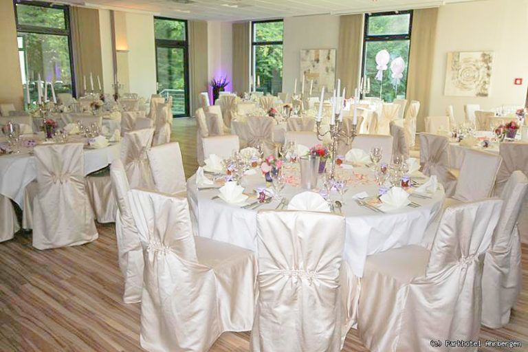 Hochzeitssaal im Parkhotel Ahrbergen