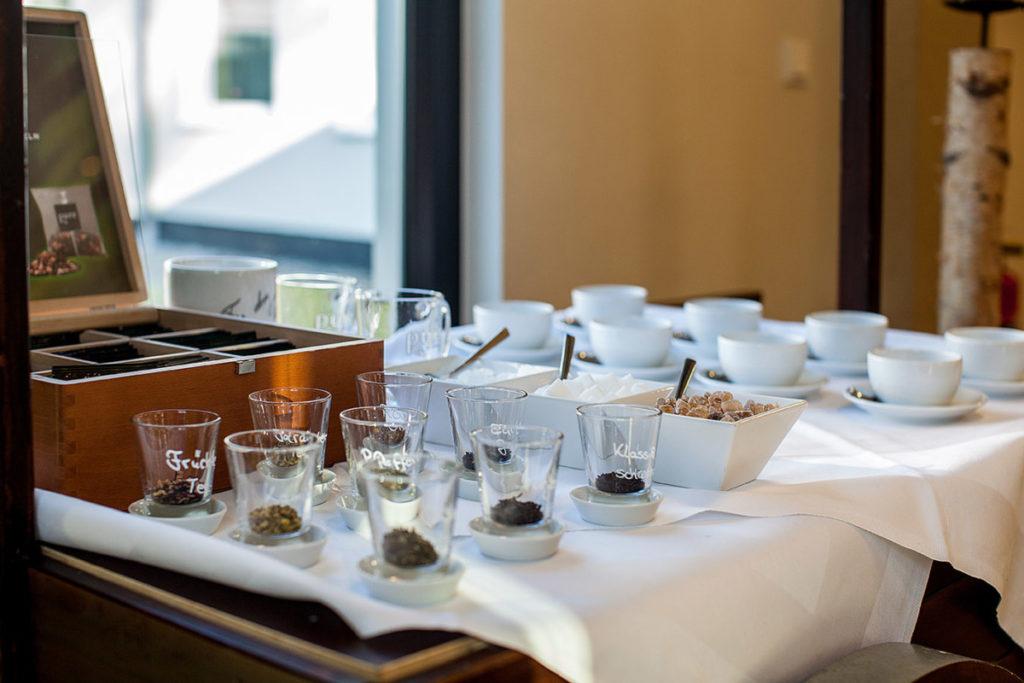 Tee- und Kaffeespezialitäten im Parkhotel Ahrbergen