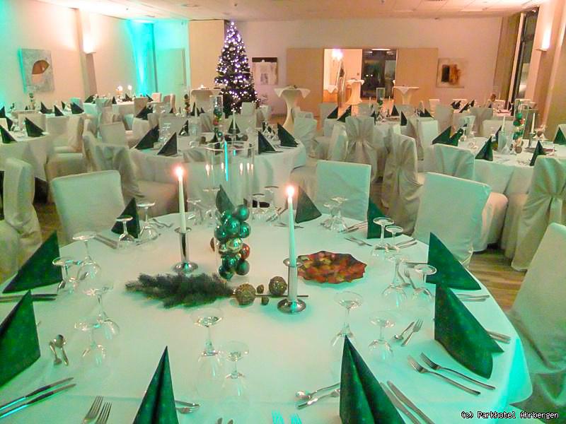 Weihnachtsfeier im Parkhotel Ahrbergen