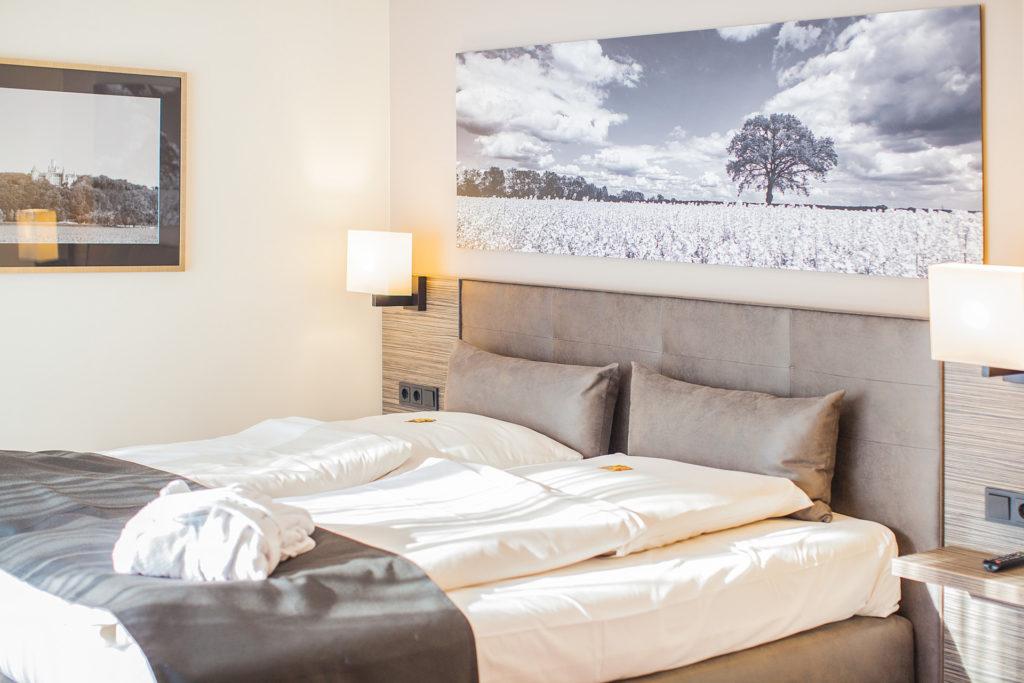 Modern und Gemütlich - die Zimmer im Parkhotel Ahrbergen